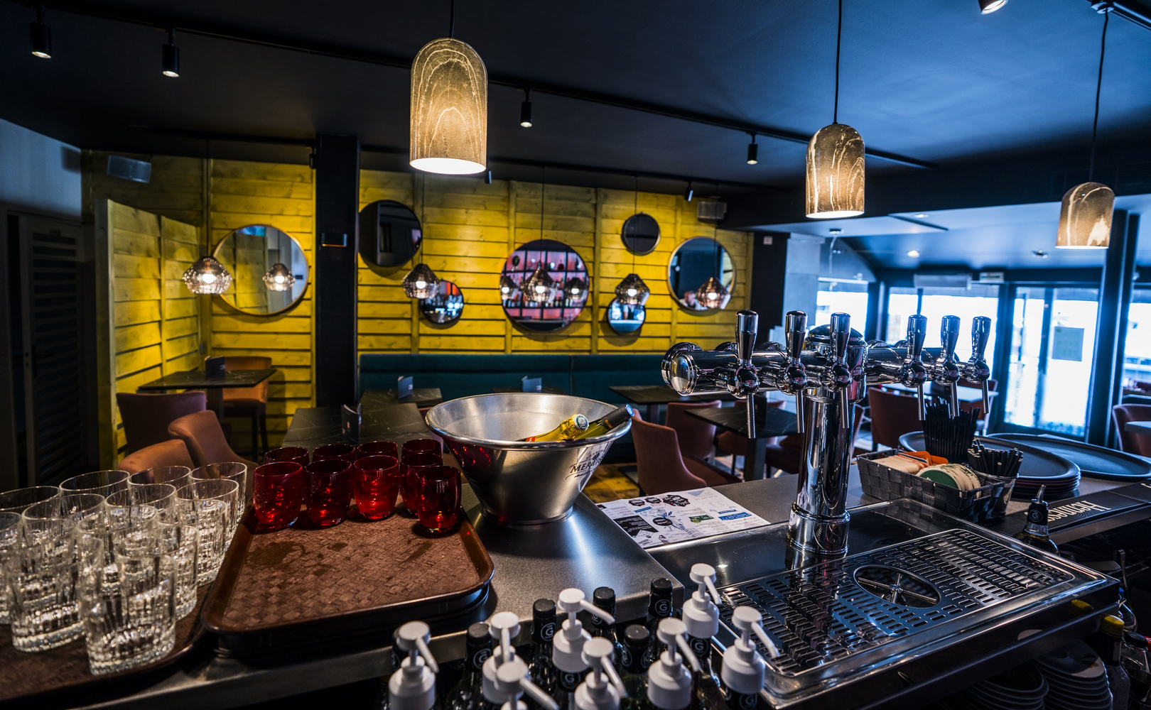 Le Cabana grande salle restaurant
